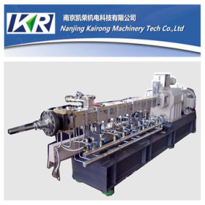 Glass Fiber Color Masterbatch Twin Screw Extruder Price pictures & photos
