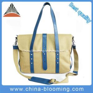 Fashion Lady Cotton Canvas Messenger Handbag Shoulder Bag pictures & photos