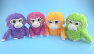 Orange Soft Plush Monkey Toy pictures & photos