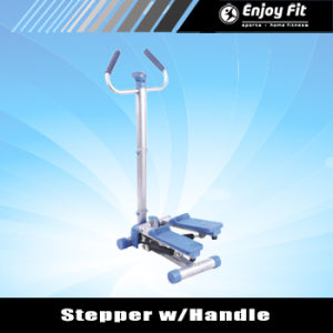 Portable Lateral Movement Twist Stepper with Resistance Bands