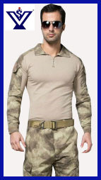 Tight Tactical Acu Camouflage Frog Suit Military Uniform (SYSG-237) pictures & photos
