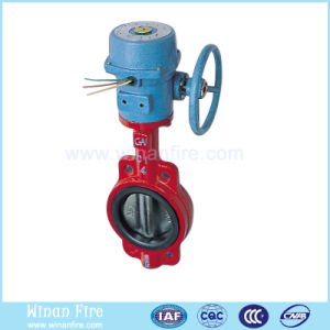 Fire Fightingt Valve/Signal Butterfly Valve pictures & photos