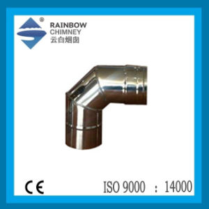 Single Wall Stainless Steel 90 Degree Elbow for Chimney pictures & photos