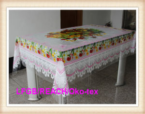 PVC Transparent Clear Independent Tablecloth Made in China pictures & photos
