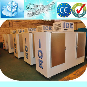Upright Bagged Ice Storage Bin with Digital Temperature Controller pictures & photos