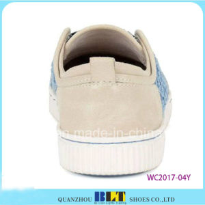 New Design Canvas Leisure Shoes with West Printed pictures & photos