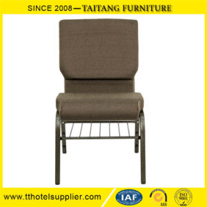 Hot Sale Durable Metal Steel Church Stacking Chair pictures & photos