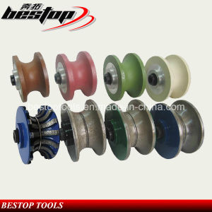 CNC Machine Profiling Wheel for Stone/Abrasive Chamfering Profiling Router pictures & photos