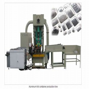 Aluminum Foil Container Making Machine/Punching Machine pictures & photos