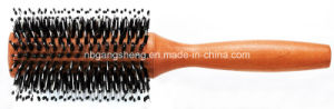 High Quality Thermal Round Wooden Brush OEM Ningbo pictures & photos