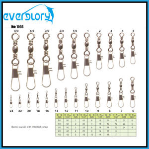 Wholesale Barrel Swivel with Interloack Snap pictures & photos