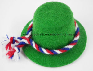 BSCI Sedex Mini Green Party Top Hats for Pet Bottle pictures & photos