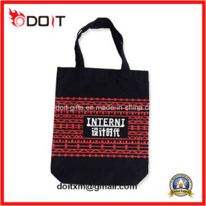 Black Cotton Canvas Tote Shopping Bag for Promotional pictures & photos