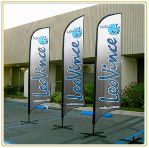 Outdoor Custom Polyester Feather Flags and Banners (3.5m) pictures & photos