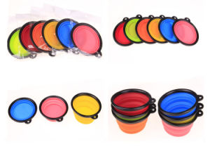 Collapsible Pet Bowl Travel Bowl Water Feeder Dog Portable Bowl pictures & photos