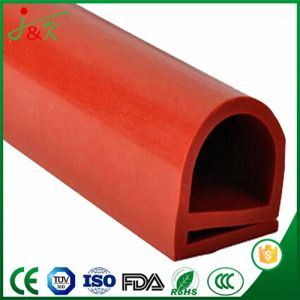 Red Silicone Rubber Extrusion Seals Strips for Construction and Auto pictures & photos
