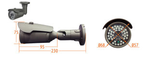 China Alibaba Cheap Outdoor Use P2p Poe Optional IP Camera 1080P pictures & photos