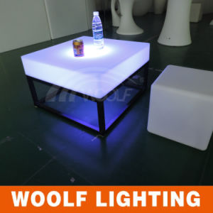 White Plastic Modern LED Illuminated Furniture pictures & photos