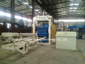 Automatic Hydraulic Concrete Cement Brick Block Making Machine pictures & photos