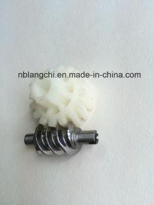Set Transmission Steel Worm with POM Worm Spur Wheel