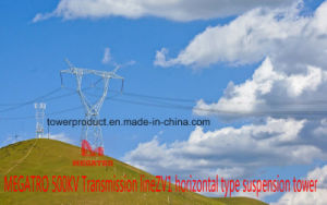 500kv Transmission Line Zv1 Horizontal Type Suspension Tower pictures & photos