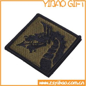 High Quality Embroidered Patches with Hook & Loop Back (YB-e-034) pictures & photos
