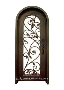 Artical Wrought Iron Entry Door