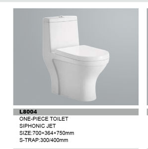 Ceramic One-Piece Toilet From Tangshan pictures & photos