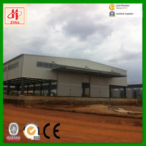 Prefabricated Steel Structure Warehouse in Rwanda pictures & photos