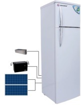42L/166L Solar Panel Power Charging Refrigerator for Home Use pictures & photos