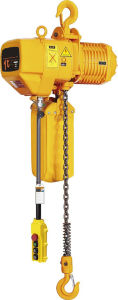 Top Quality Double Lifting Speed 3t Electric Chain Hoist pictures & photos