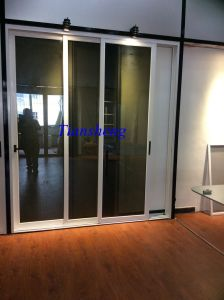 Aluminium/Aluminum Double Glazing Patio Exterior Glass Sliding Door pictures & photos