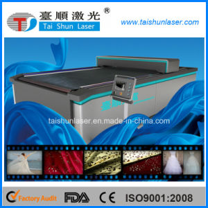 CO2 Laser Cutting Machine for Fabric pictures & photos