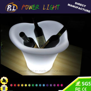 Rechargeable Bar Furniture Illuminated LED Ice Bucket pictures & photos