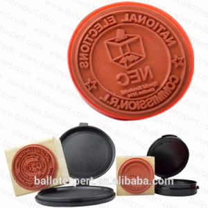 Se-Scs002 New Style 2015 Wooden Stamp with Ink Pad