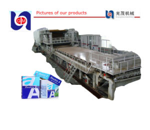 Large Recycle Waste Virgin Pulp A4 Culture Paper Making Machine Price pictures & photos