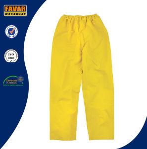 2-Piece Waterproof Rain Suit Yellow pictures & photos
