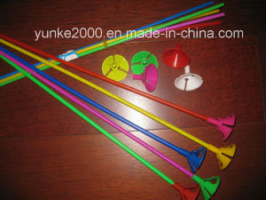 Plastic Stick and Cup for Balloon (CB-103)