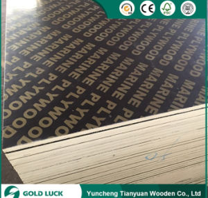Excellent Grade Melamine Faced Construction Marine Plywood 1220X2440mm pictures & photos