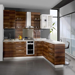 Custom Made Wooden Kitchen Cabinet (K-106) pictures & photos