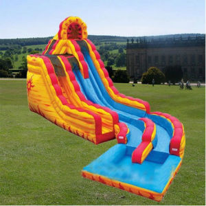 Commercial Clown Inflatable Slide for Children pictures & photos