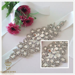 Short Paragraph Wedding Dress Rhinestone Belt, Chain Drill pictures & photos