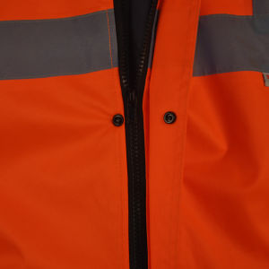 Breathable Waterproof High Visibility Winter Jacket pictures & photos