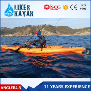 Hot Sale 4.3m Single Seats Kayak HDPE Kayak pictures & photos