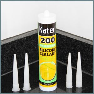 White Color 320ml Tube Nail Glue for Door Line pictures & photos