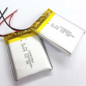 3.7V 104050 2300mAh Lithium Polymer Battery for Wireless Loudspeakers