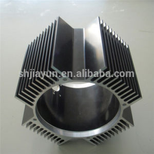 Cylinder Aluminum Machined Parts Aluminium Profile pictures & photos