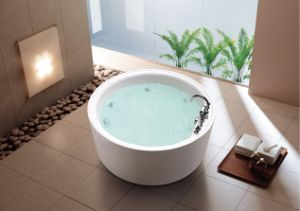 Round Indoor Whirlpool Acrylic Massage Shower pictures & photos