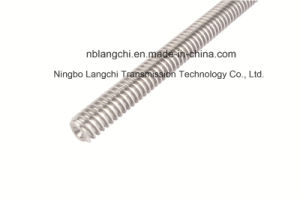 Multi Starts Stainless Steel Trapezoidal Thread Lead Screw pictures & photos