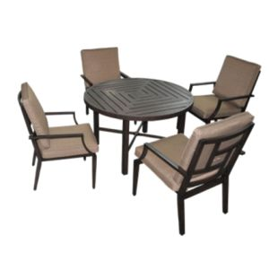 New 5PC Dining Set Furniture for Outdoor pictures & photos